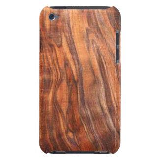 クルミ(木製の穀物)のipod touchの穹窖の箱 Case-Mate iPod touch ケース