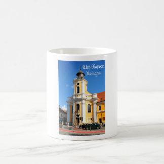 クルージュNapoca、ルーマニアの古い教会 コーヒーマグカップ