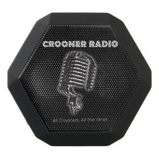 クルーナーの無線のクリップ式のBluetoothのスピーカー ブラックBluetoothスピーカー