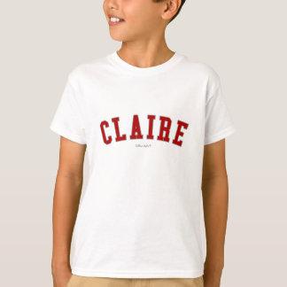クレア Tシャツ