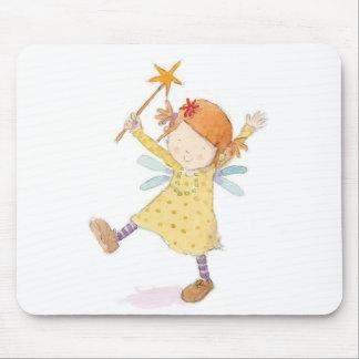 クレアKeay -細い棒を持つ妖精 マウスパッド