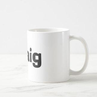 クレイグのマグ コーヒーマグカップ