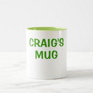 クレイグのマグ ツートーンマグカップ