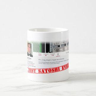 クレイグライトはSatoshi Nakamotoです コーヒーマグカップ