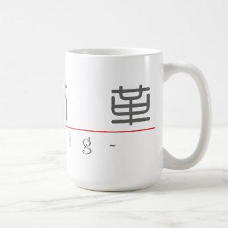クレイグ20530_0.pdfの中国のな名前 コーヒーマグカップ