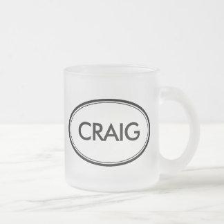 クレイグ フロストグラスマグカップ
