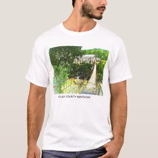 クレイ郡の旋回橋 Tシャツ