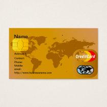 クレジットカードの名刺 名刺