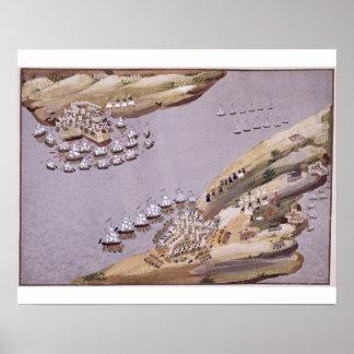 クレタおよびサモスのプレートの島のための戦い ポスター