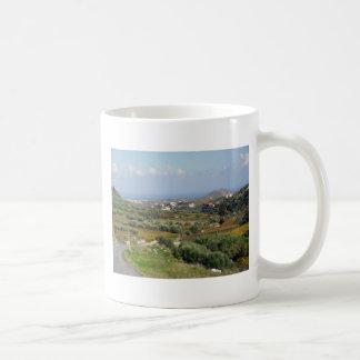 クレタの冬の歩行 コーヒーマグカップ
