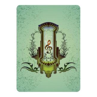 クレフ、音符記号 カード