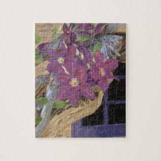 クレマチスのつる植物 ジグソーパズル