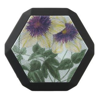 クレマチスの花の芸術 ブラックBluetoothスピーカー