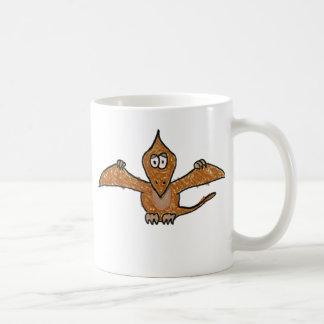 クレヨンのPterodactylの恐竜のコレクション コーヒーマグカップ