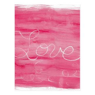 クレヨン愛: 愛はきたないです ポストカード
