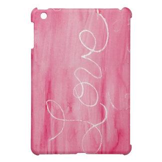 クレヨン愛: 愛はきたないです iPad MINIカバー