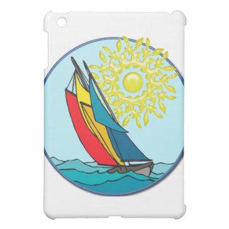 クレヨン色のヨット iPad MINI カバー