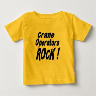 クレーンの操縦士の石! Tシャツ