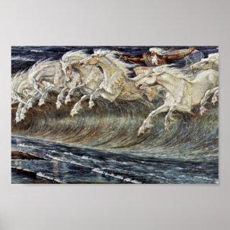 クレーンウォルターによるネプチューンの馬 ポスター
