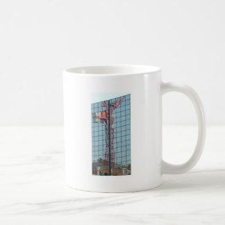 クレーン賃借り コーヒーマグカップ