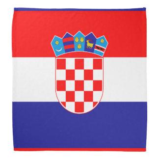 クロアチアのクロアチアの旗のバンダナ|色 バンダナ