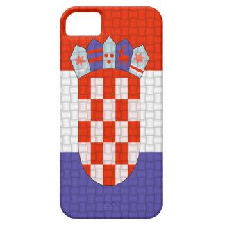 クロアチアのクロアチアの旗 iPhone SE/5/5s ケース