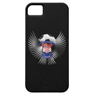 クロアチアのサッカーのチャンピオン iPhone SE/5/5s ケース