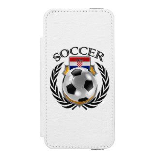 クロアチアのサッカー2016ファンのギア INCIPIO WATSON™ iPhone 5 ウォレット ケース