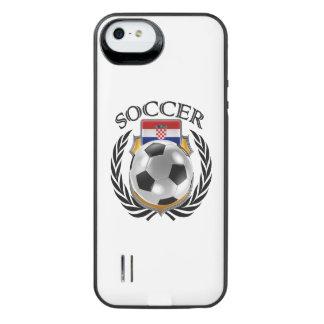 クロアチアのサッカー2016ファンのギア iPhone SE/5/5sバッテリーケース