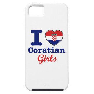 クロアチアのデザイン iPhone SE/5/5s ケース