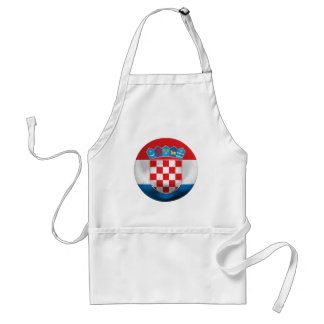 クロアチアのフットボール スタンダードエプロン