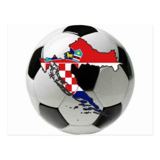 クロアチアの全国代表チーム はがき