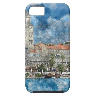 クロアチアの割れ目の都市 iPhone SE/5/5s ケース