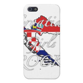 クロアチアの女の子の石! iPhone 5 CASE