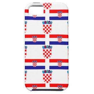 クロアチアの旗そして頂上 iPhone SE/5/5s ケース