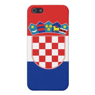 クロアチアの旗のiPhone iPhone 5 カバー