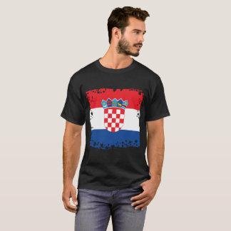 クロアチアの旗、クロアチア色 Tシャツ