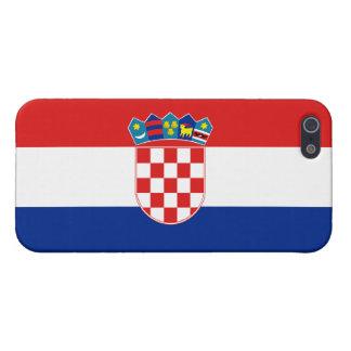 クロアチアの旗 iPhone 5 カバー