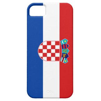 クロアチアの旗 iPhone SE/5/5s ケース