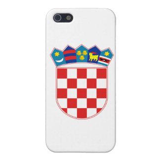 クロアチアの紋章付き外衣 iPhone 5 カバー
