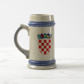 クロアチアの紋章 ビールジョッキ