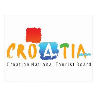 クロアチアの観光事業 はがき