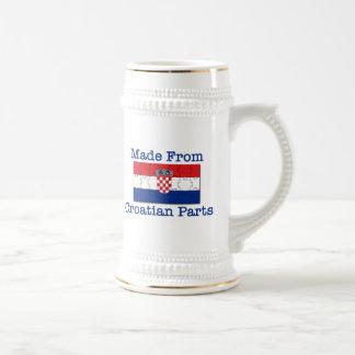 クロアチアの部品 ビールジョッキ