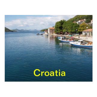 クロアチアの郵便はがき ポストカード