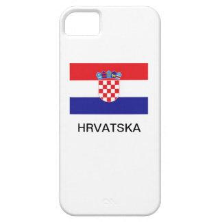 クロアチアのiPhone 5の場合 iPhone SE/5/5s ケース
