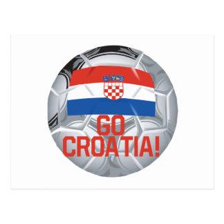 クロアチアは行きます ポストカード
