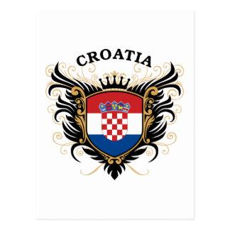 クロアチア はがき