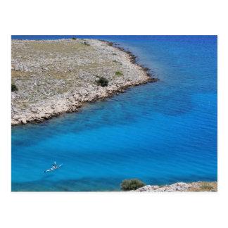 クロアチア-アドリア海 はがき