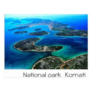 クロアチア-アドリア海 ポストカード