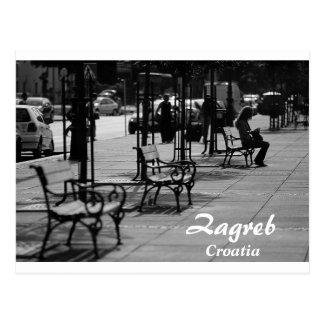 クロアチア-ザグレブ ポストカード